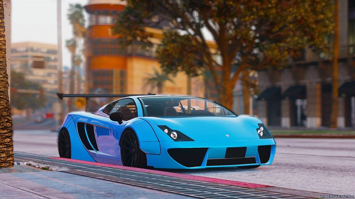 Pegassi Vacca RocketCow Widebody 0.3 для GTA 5