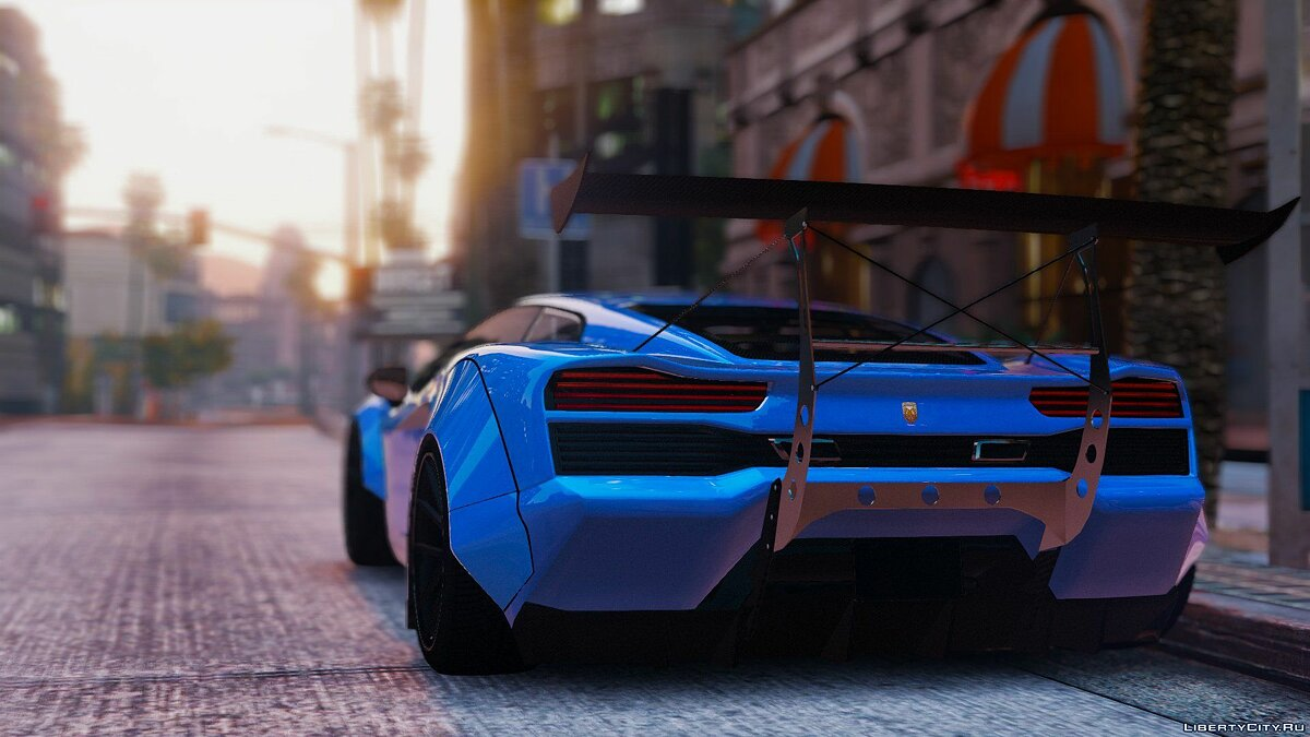 Pegassi Vacca RocketCow Widebody 0.3 для GTA 5 - скриншот #2