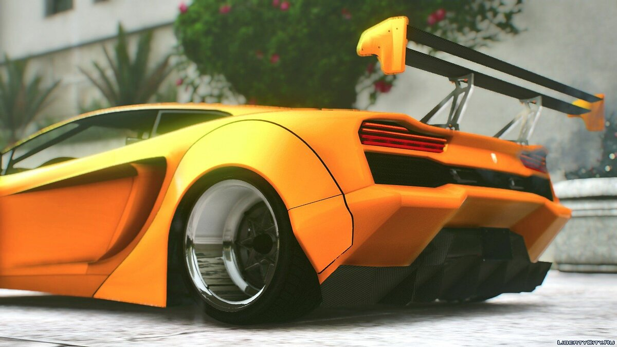 Pegassi Vacca RocketCow Widebody 0.3 для GTA 5 - скриншот #8