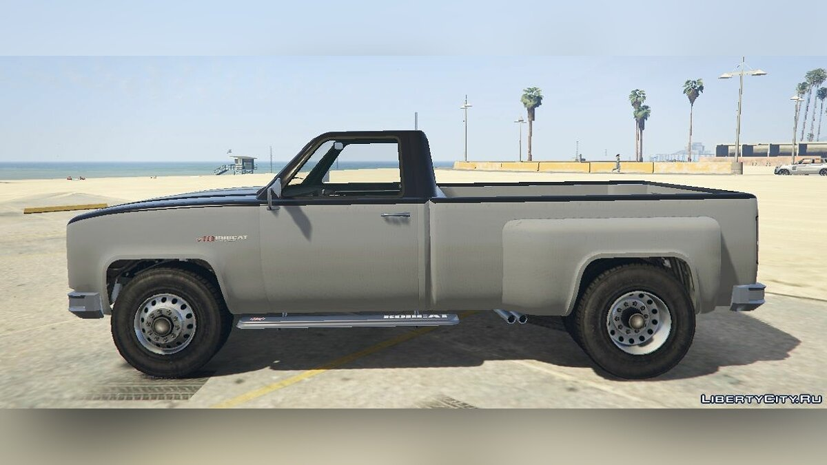 ��ашина Bobcat XL Dually Single Cab [Add-On / Replace] 1.0 для GTA 5