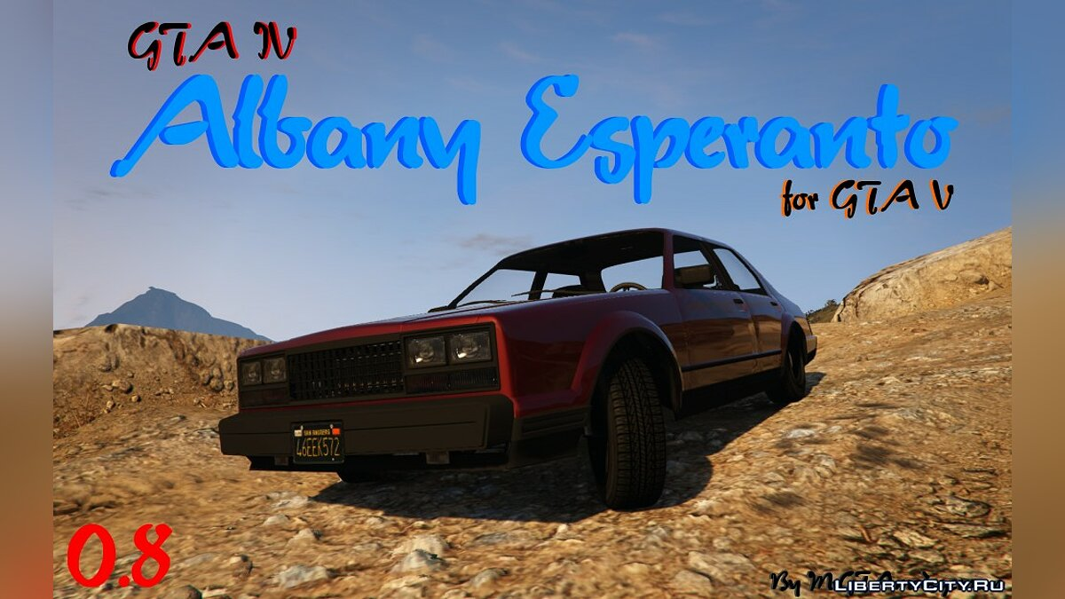 Машина Albany Esperanto from GTA 4 0.8 для GTA 5