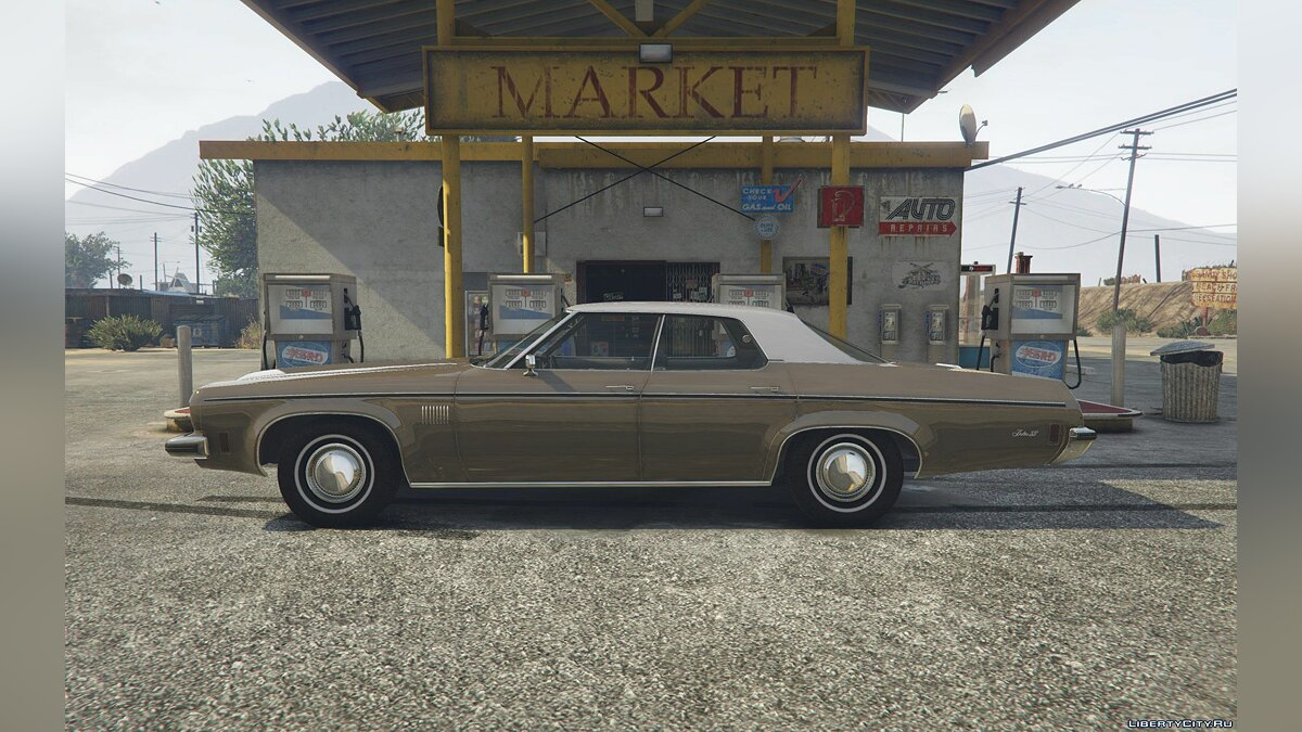 1973 Oldsmobile Delta 88 [Add-On / Replace] 2.9 для GTA 5 - скриншот #3