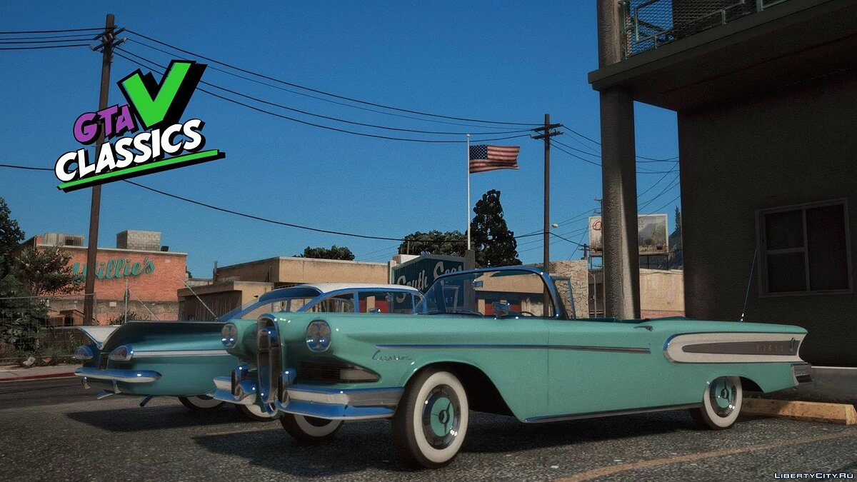 Машина 1958 Edsel Citation Convertible [Add-On] 1.0H для GTA 5