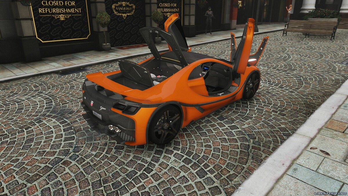 GTA Spano 2016 [Add-On | Auto Spoiler | Template] 1.0 для GTA 5 - скриншот #6