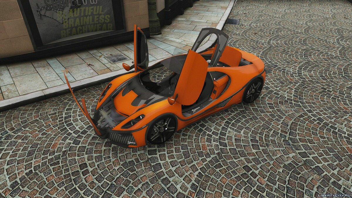 GTA Spano 2016 [Add-On | Auto Spoiler | Template] 1.0 для GTA 5 - скриншот #7