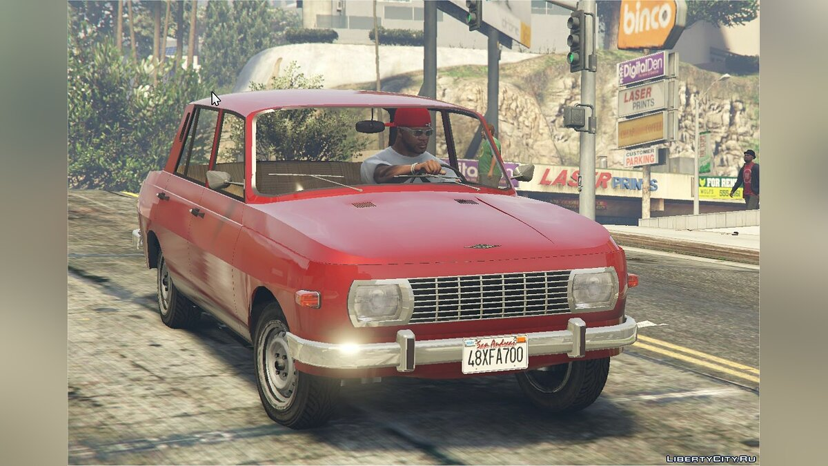 Машина WARTBURG 353 [Add-On] and [Replace] for Asea+tuning parts 1.0 для GTA 5