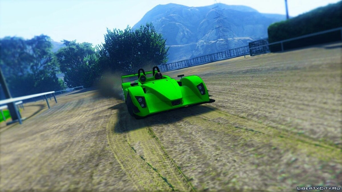Машина Caterham-Lola SP300R 0.1 для GTA 5