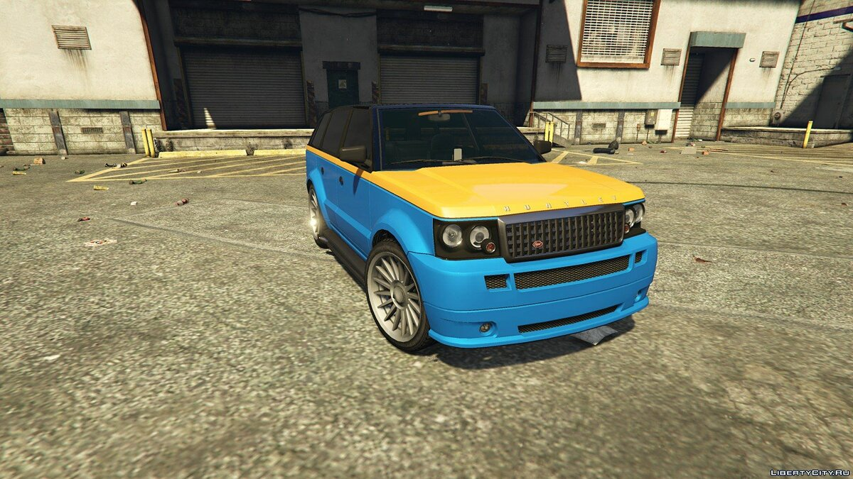 GTA IV Huntley + Tuning для GTA 5