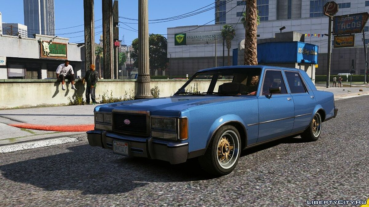 ��ашина 1988 Vapid STD Stanier 1.0.0 для GTA 5