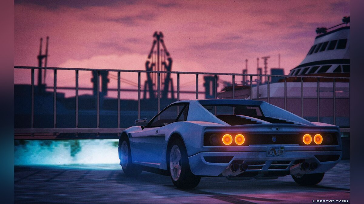 ��ашина Grotti Cheetah Classic - Vice City PD [Add-On] 1.0 для GTA 5