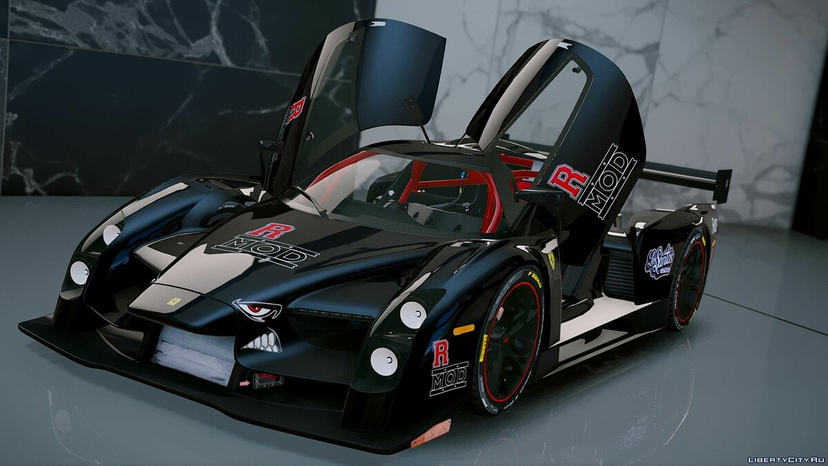 Scuderia Glickenhaus SCG003 [Add-On] 1.3 для GTA 5 - скриншот #3