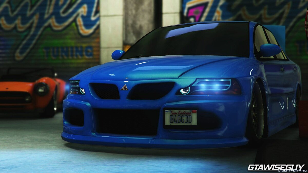 Maibatsu Revolution SG-RX (Tuners and Outlaws) для GTA 5