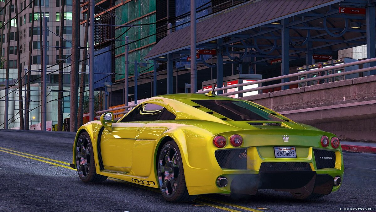 Noble M600 2010 [Add-On | Animated | Template | Tuning] 1.1 для GTA 5 - скриншот #4