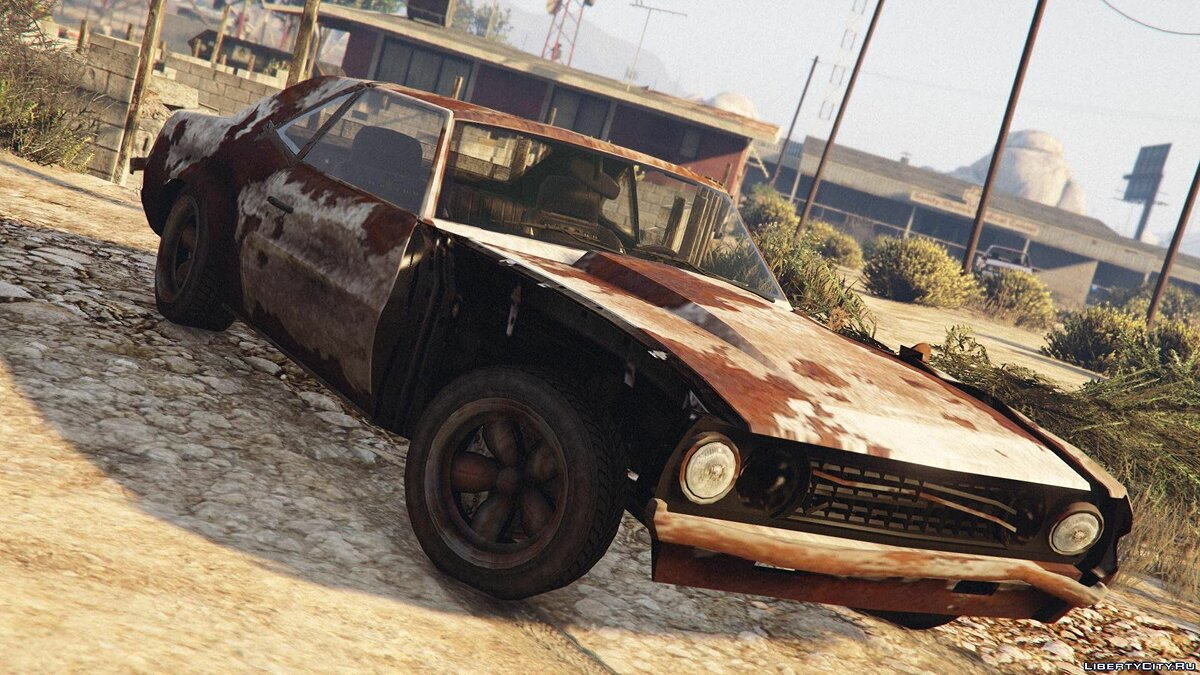 Rusty Vigero from GTA IV (with Livery Support) для GTA 5 - скриншот #2