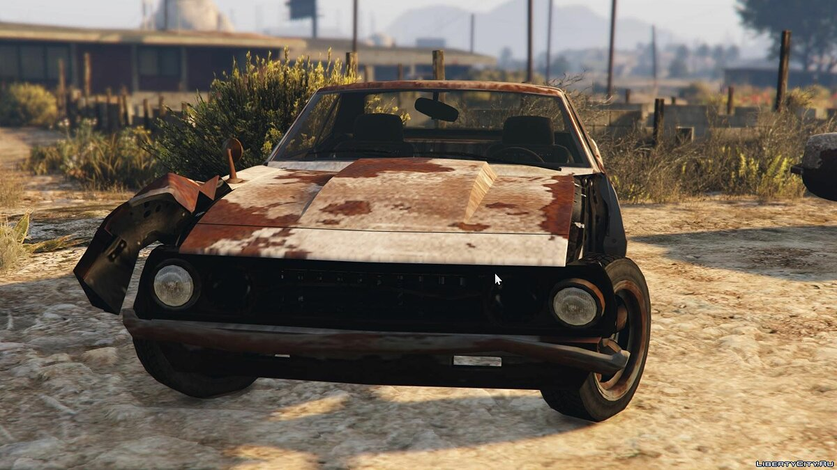 Rusty Vigero from GTA IV (with Livery Support) для GTA 5 - скриншот #3