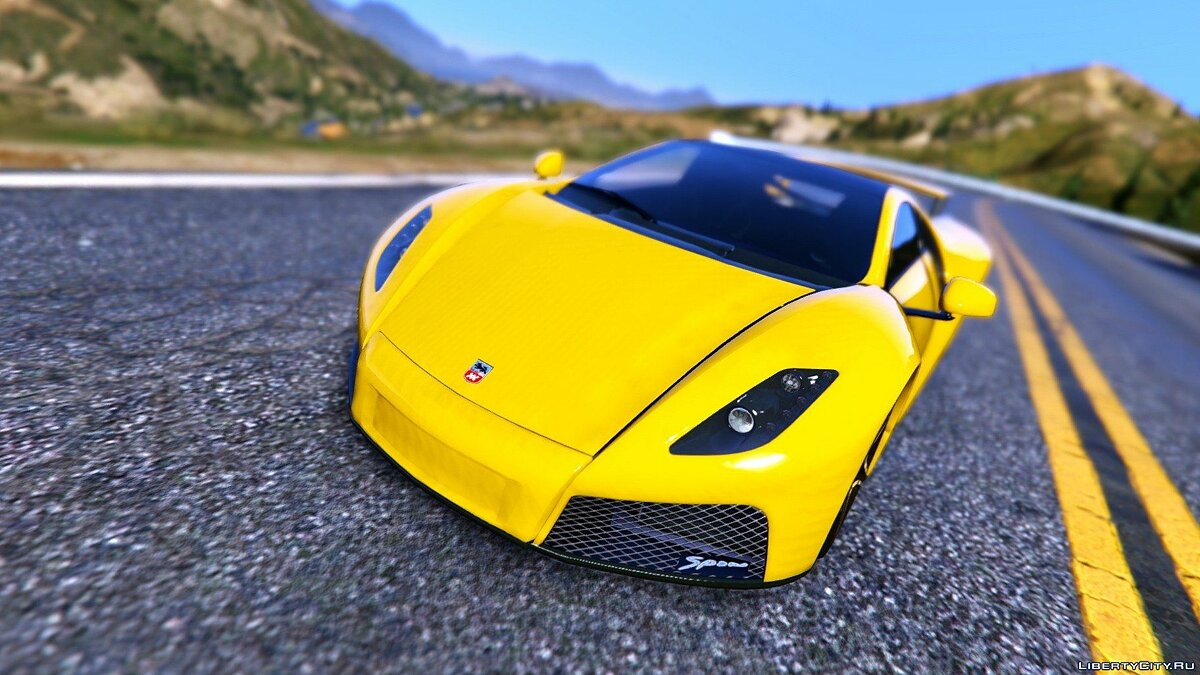 GTA Spano [Add-On | Tuning | Auto Spoiler] для GTA 5