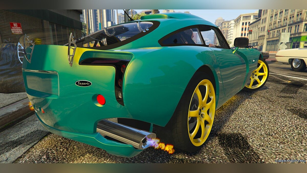 TVR Sagaris [Add-on Replace] 1.1 для GTA 5 - скриншот #2