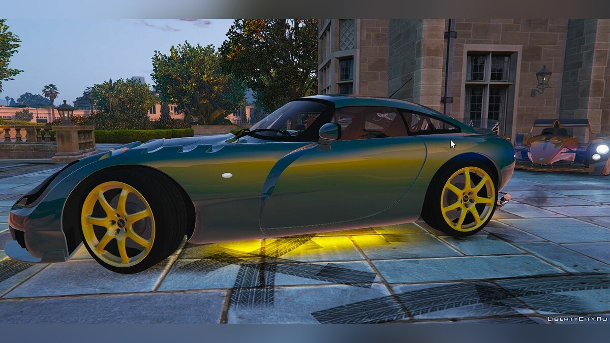 TVR Sagaris [Add-on Replace] 1.1 для GTA 5