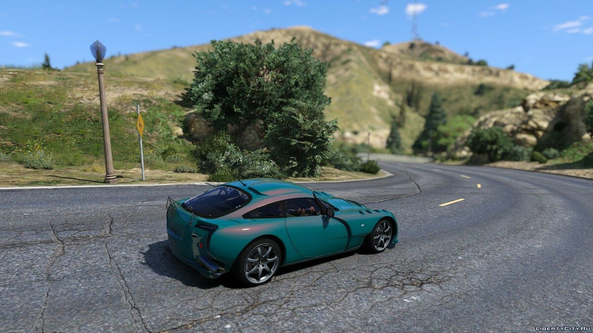TVR Sagaris [Add-on Replace] 1.1 для GTA 5 - скриншот #3