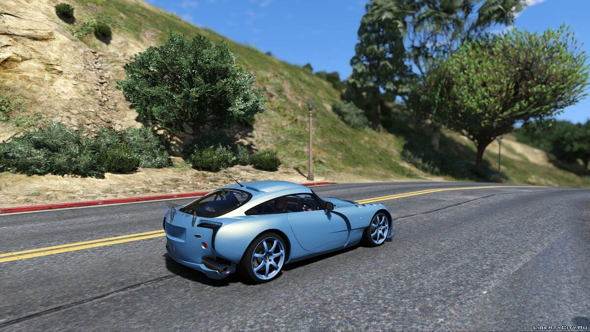 TVR Sagaris [Add-on Replace] 1.1 для GTA 5 - скриншот #4