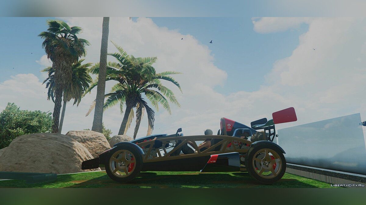Ariel Atom 500 [Add-On / Replace] 1.0 для GTA 5