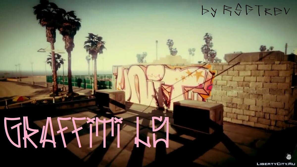 Видео Graffiti LS для GTA 5