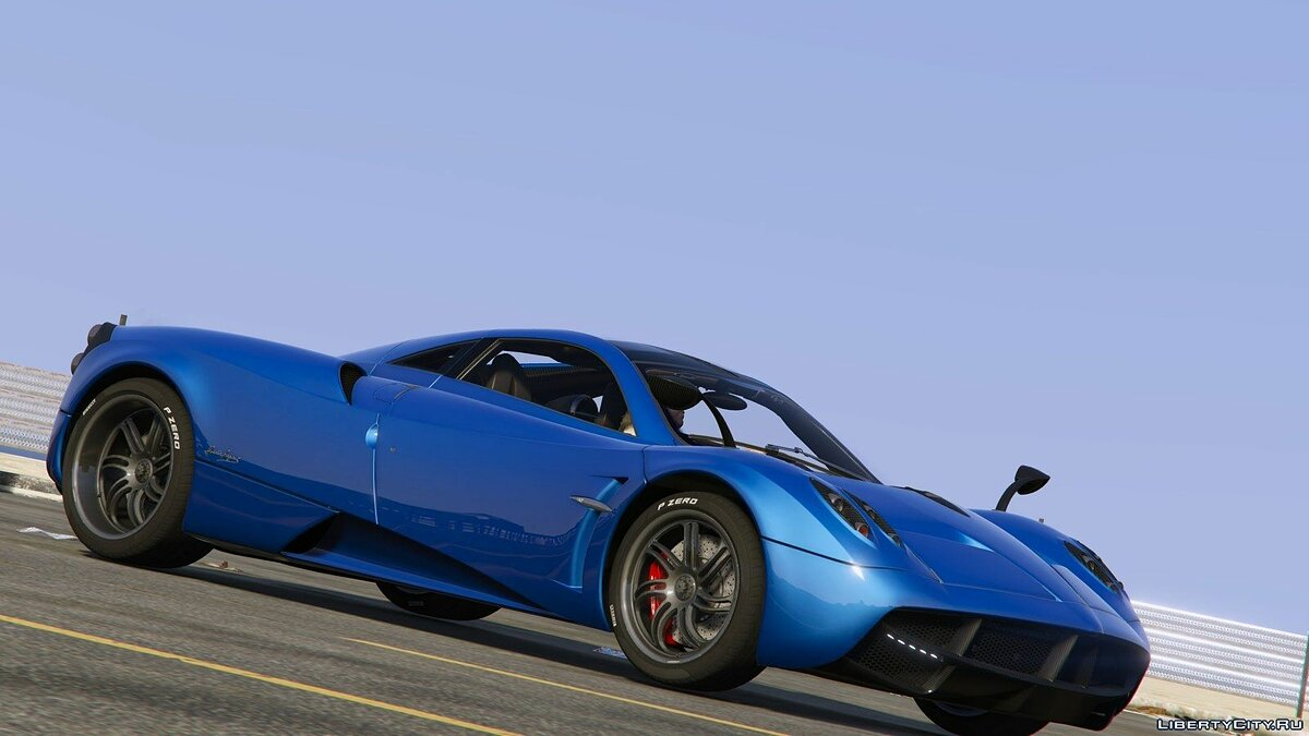 2013/14 Pagani Huayra [Add-OnReplace] v1.21 для GTA 5 - скриншот #2