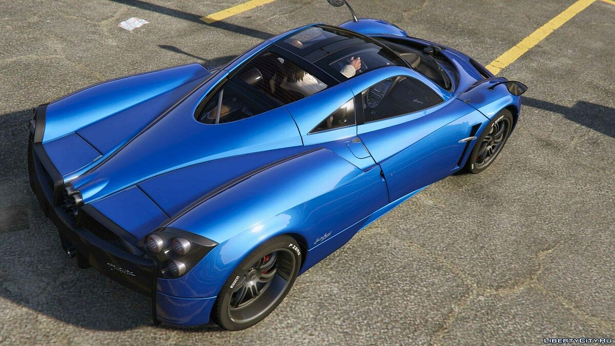 2013/14 Pagani Huayra [Add-OnReplace] v1.21 для GTA 5 - скриншот #10