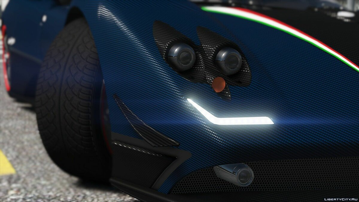 Pagani Zonda Tricolore 2010 [Add-On/Replace] 2.0 для GTA 5 - скриншот #5