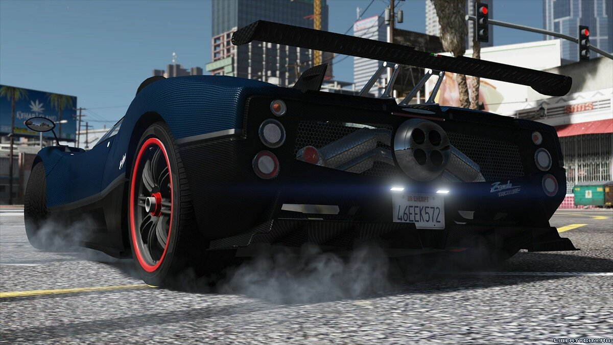 Pagani Zonda Tricolore 2010 [Add-On/Replace] 2.0 для GTA 5 - скриншот #7