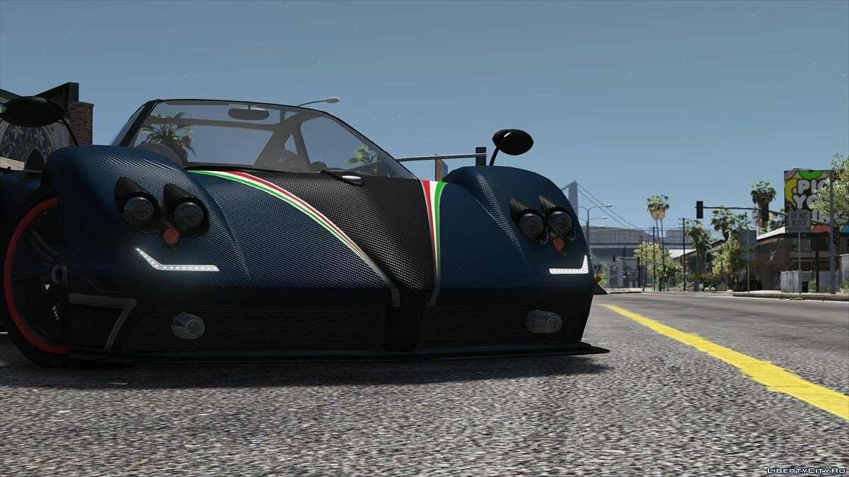 Pagani Zonda Tricolore 2010 [Add-On/Replace] 2.0 для GTA 5 - скриншот #8
