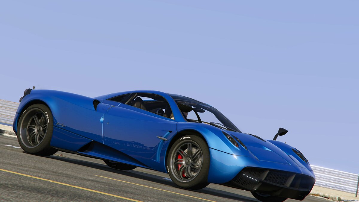 2013/2014 Pagani Huayra [Add-On/Replace] v1.3 для GTA 5 - скриншот #4