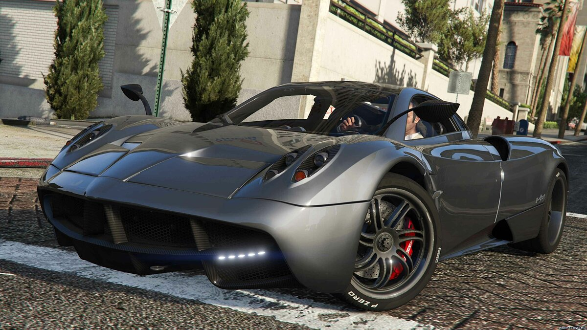 2013/2014 Pagani Huayra [Add-On/Replace] v1.3 для GTA 5