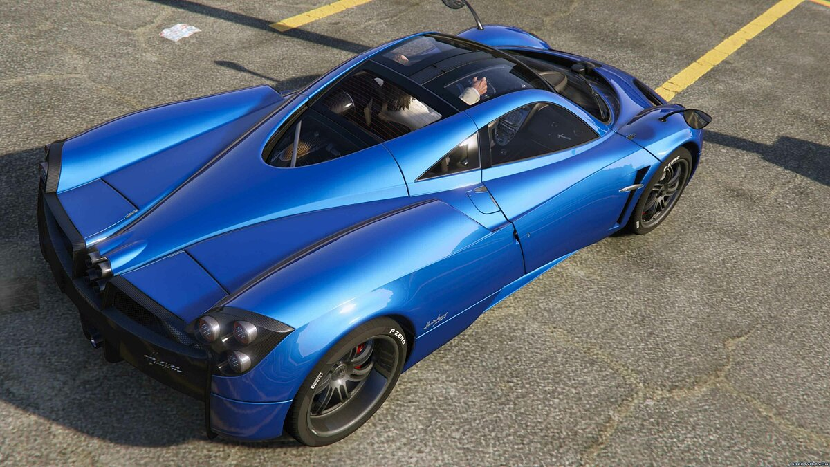 2013/2014 Pagani Huayra [Add-On/Replace] v1.3 для GTA 5 - скриншот #5