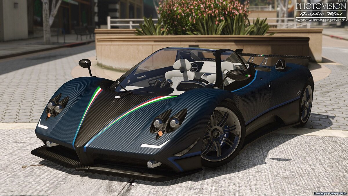 Pagani Zonda Tricolore 2010 [Add-On / Replace] 3.0 для GTA 5 - скриншот #9