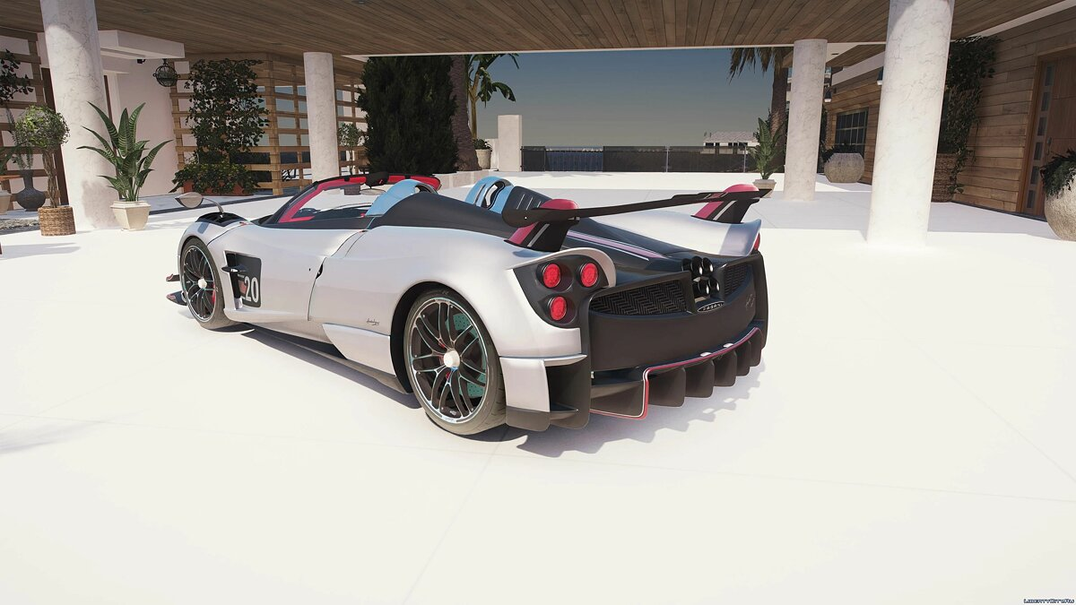 Машина Pagani Pagani Huayra BC Roadster [Add-On] 0.5 для GTA 5