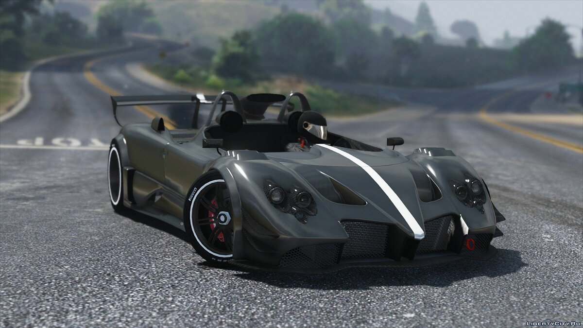 Машина Pagani 2016 Pagani Zonda LM-R Ragno [Add-On | Digital Dials] 1.0 для GTA 5