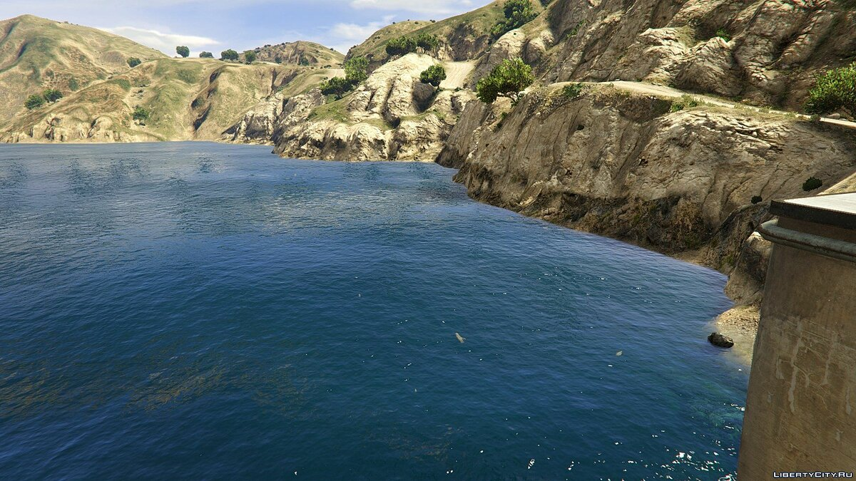Мод Indian Ocean Water Mod 1.2 для GTA 5