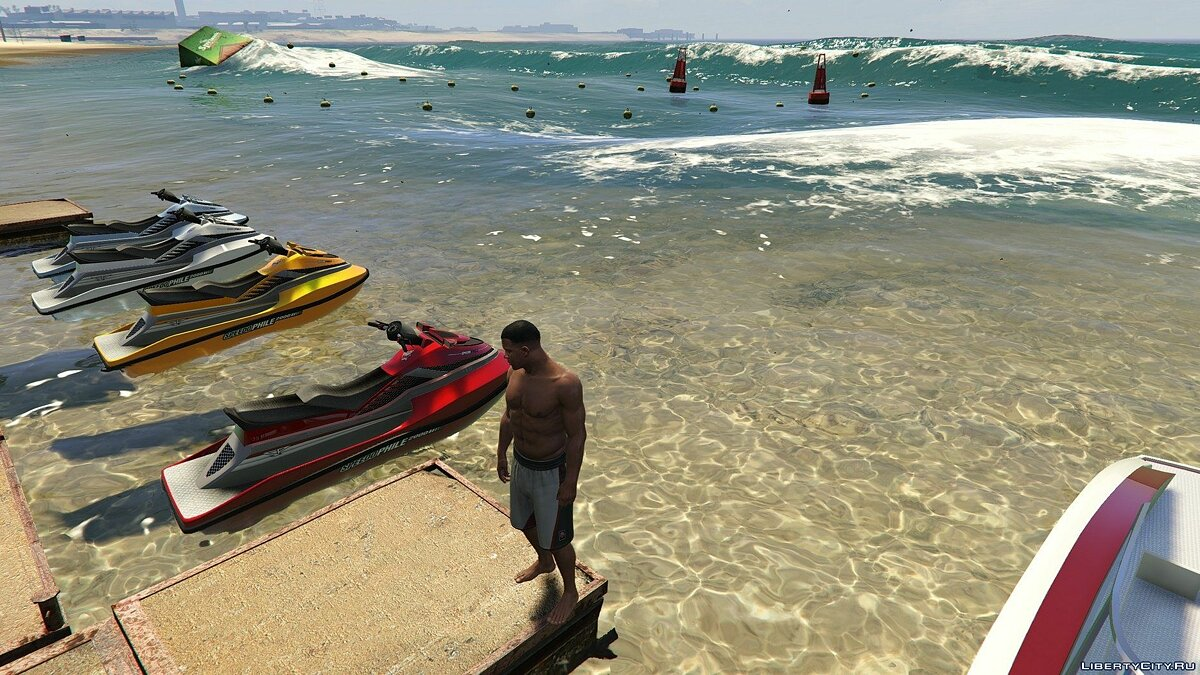 ��од Indian Ocean Water Mod 1.2 для GTA 5
