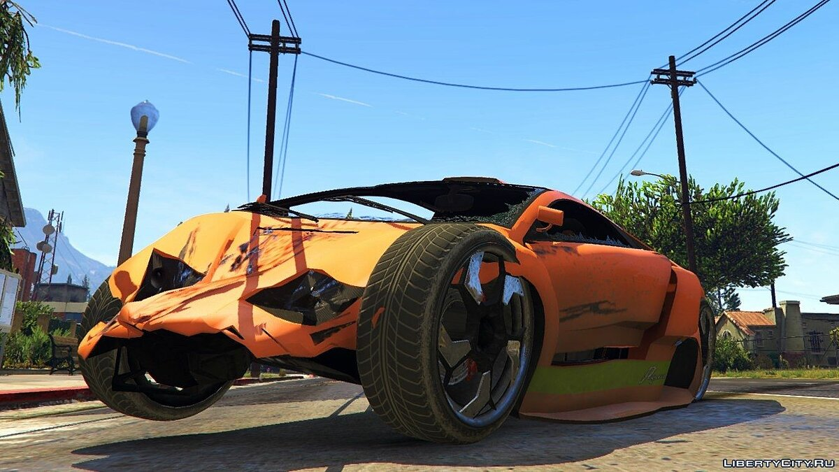 GTA IV Vehicle Damage Handling Deformation для GTA 5