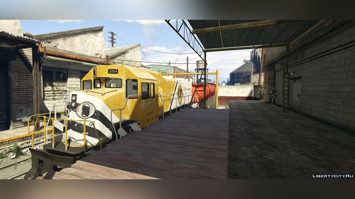 Мод Freight Train Extended - East LS для GTA 5