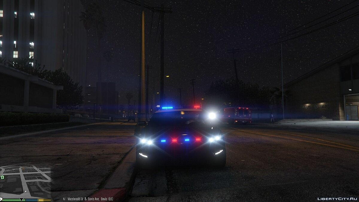 Improved Spotlight and LED lighting v1.2 для GTA 5