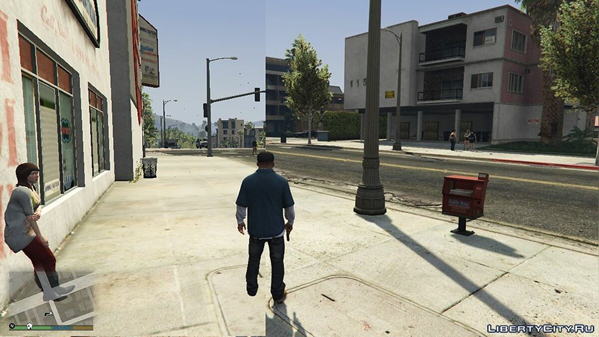 Мод GTA 5 Low setting for notebooks для GTA 5