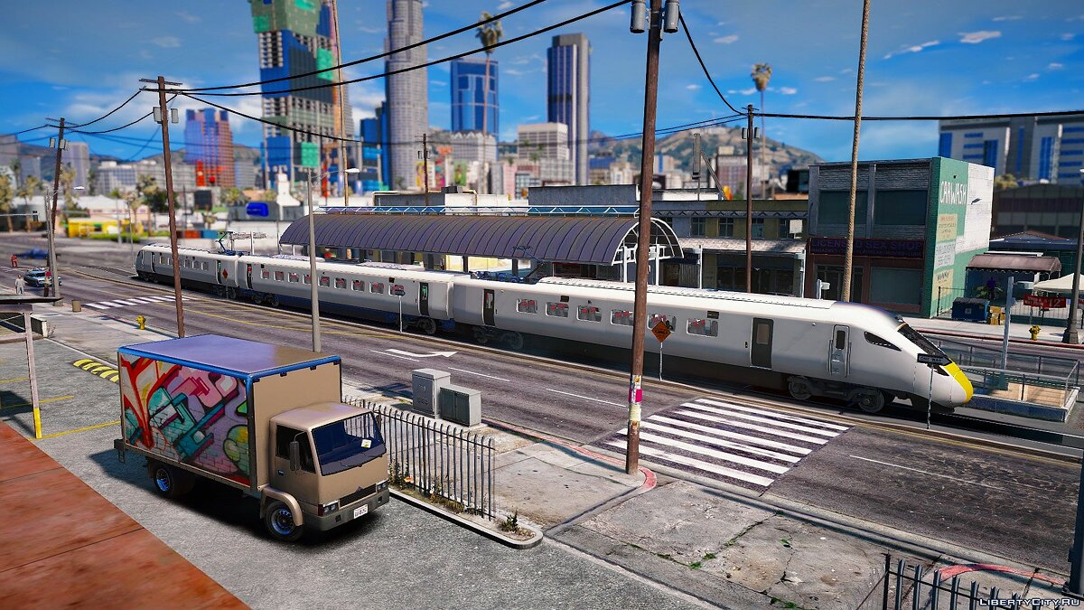 Мод Train xml - Engine at front and rear для GTA 5