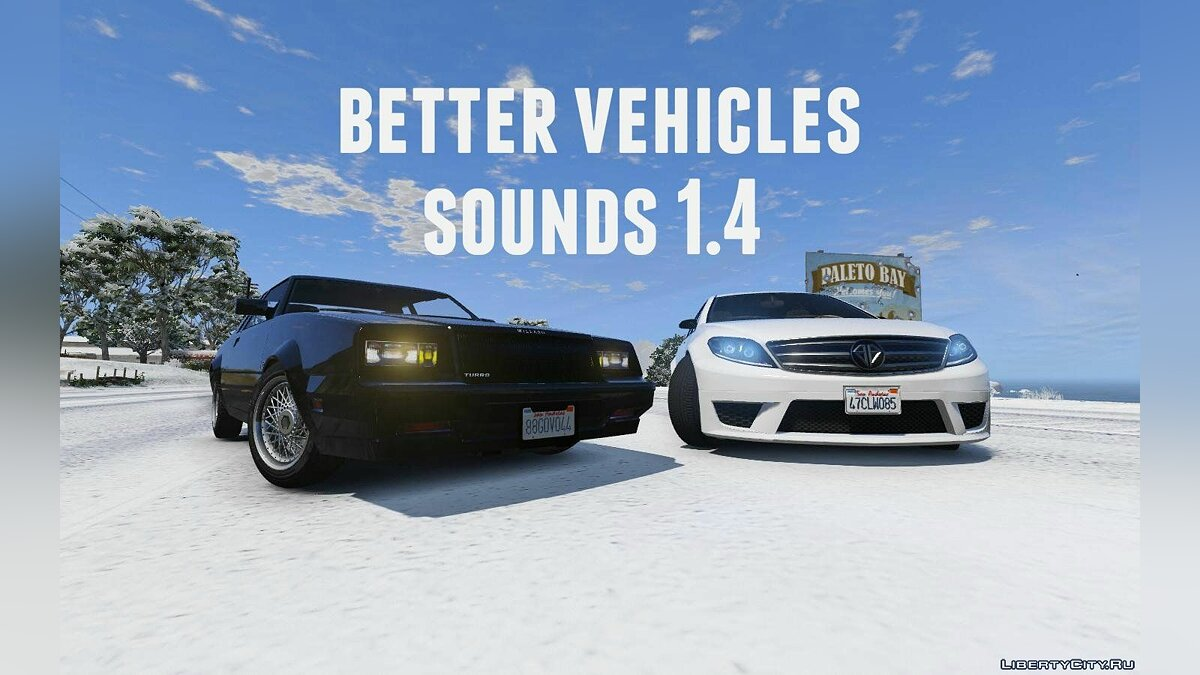 Better vehicles sounds 1.4 для GTA 5