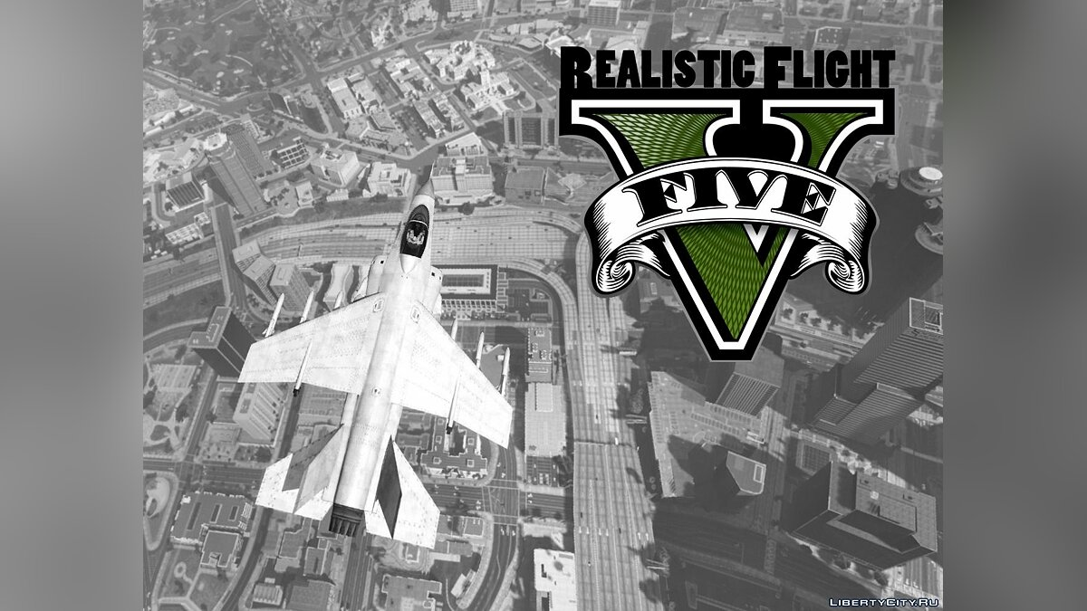 Realistic Flight V 1.6 для GTA 5 - Картинка #1