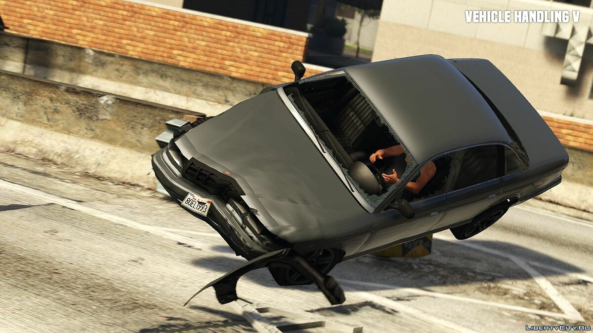 ��од Vehicle Handling V 0.3 для GTA 5