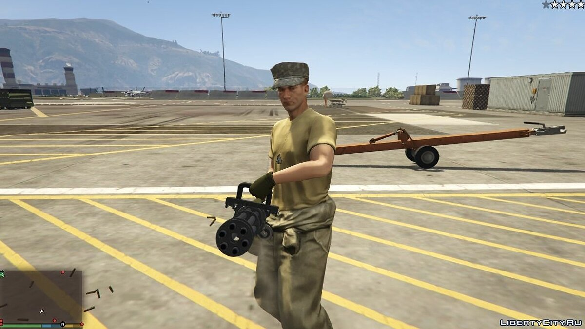 Cops/Police/SWAT/Army have Miniguns 1.0 для GTA 5 - скриншот #3