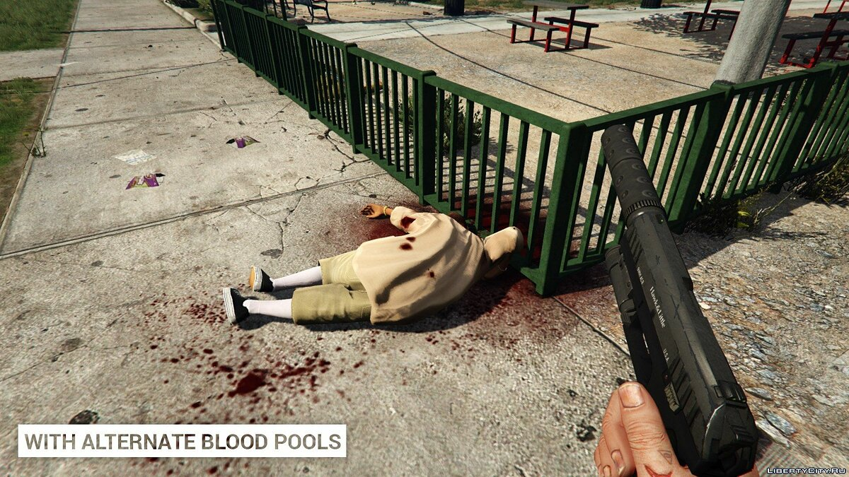 Alternate Blood Pools 1.0 для GTA 5