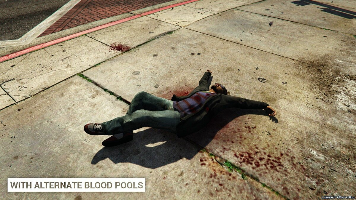 Alternate Blood Pools 1.0 для GTA 5 - скриншот #4